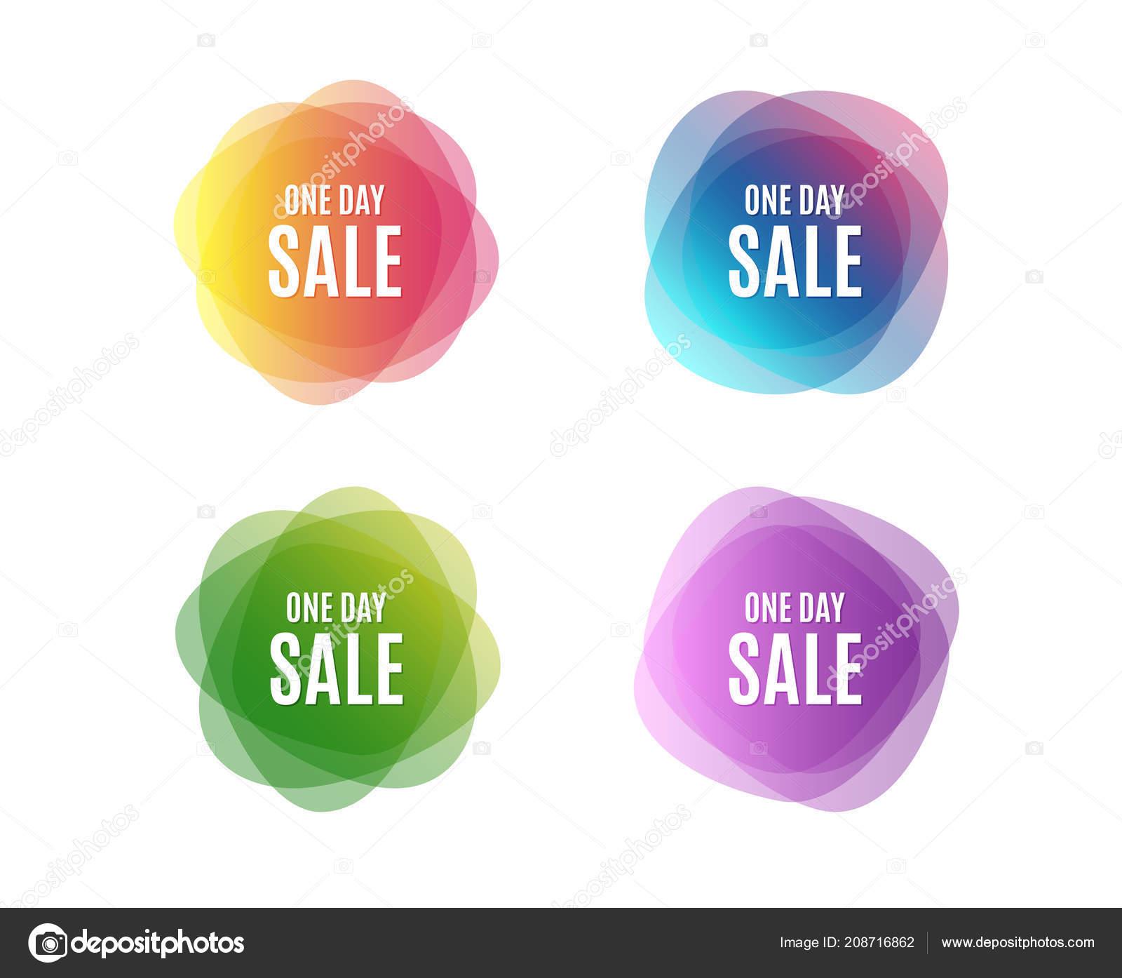 3140984d6 Venta Día Signo Precio Oferta Especial Símbolo Descuentos Publicidad  Coloridas — Vector de stock