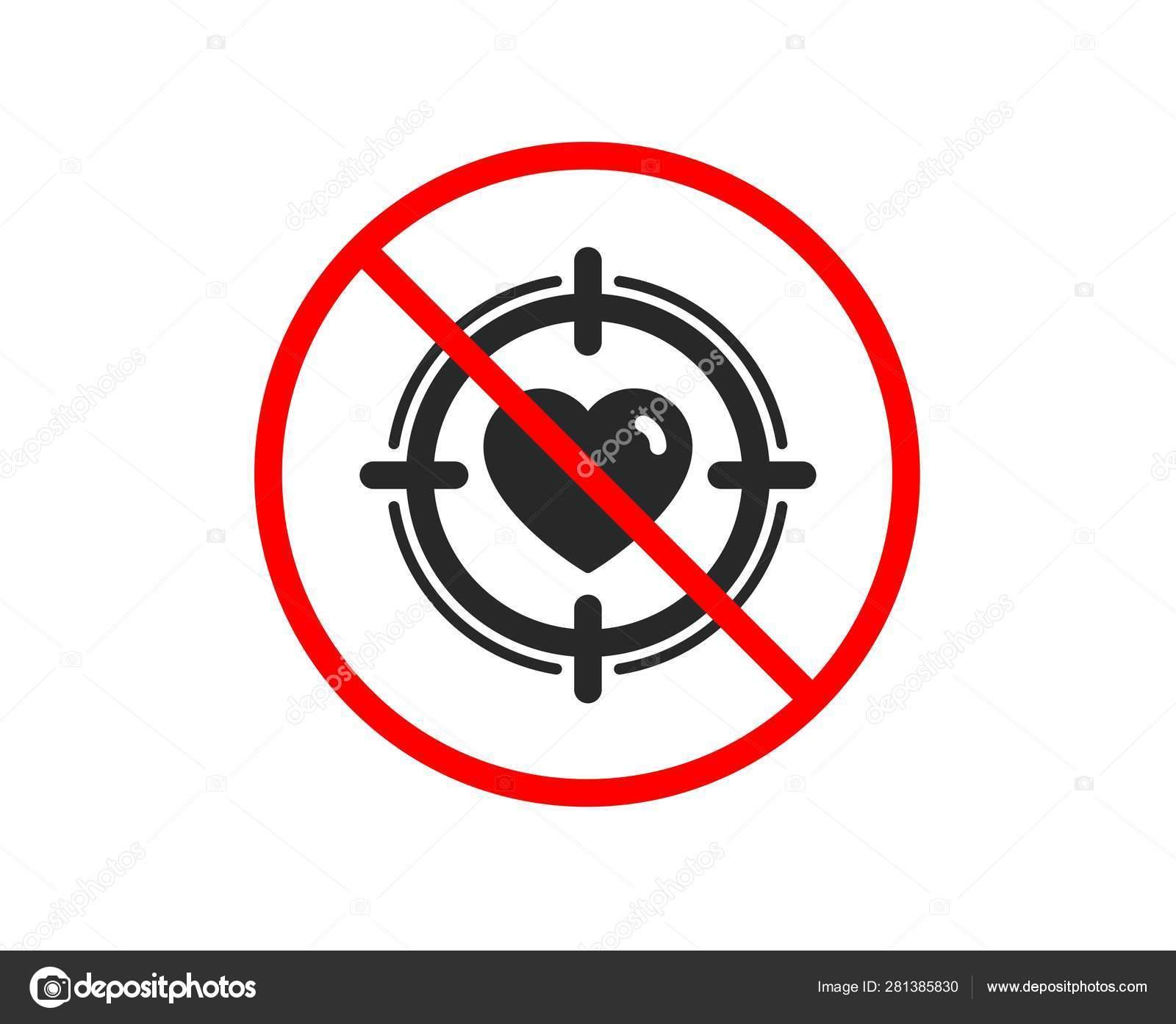heart in target aim icon love symbol vector stock vector c blankstock 281385830 heart in target aim icon love symbol vector stock vector c blankstock 281385830