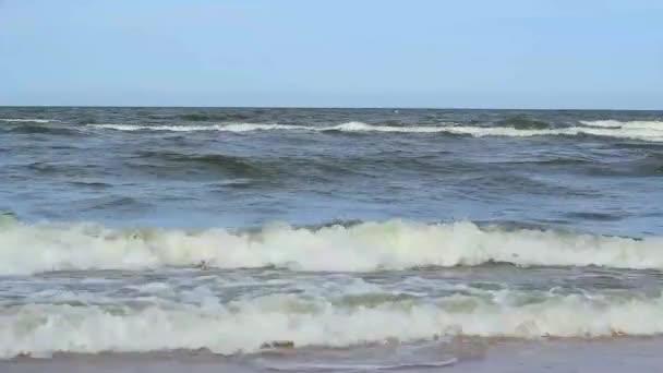 neklidné vlny vzdálenost zobrazení