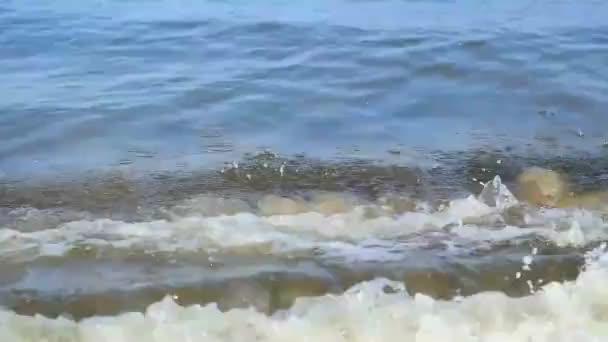 velmi blízký záběr mořské vody