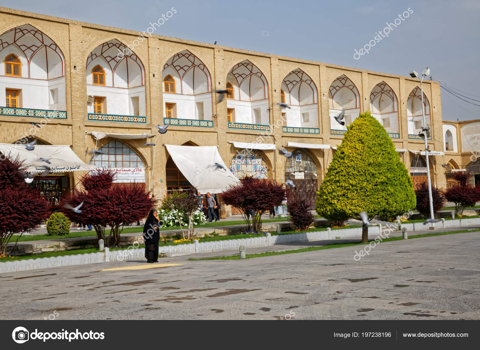 Isfahan Imam Square spring time – Stock Editorial Photo