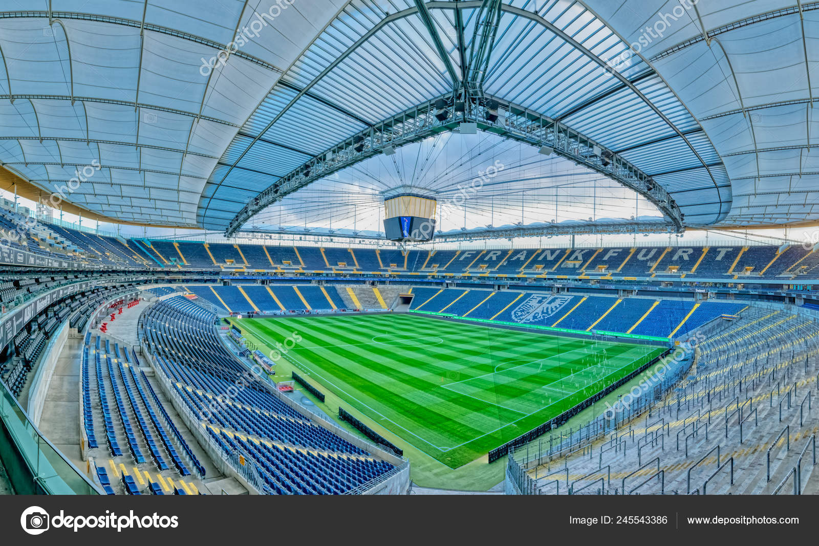 Айнтрахт франкфурт футбольный клуб стадион