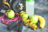 Fotografie Fitness Sport (Krafttraining hintergrund)