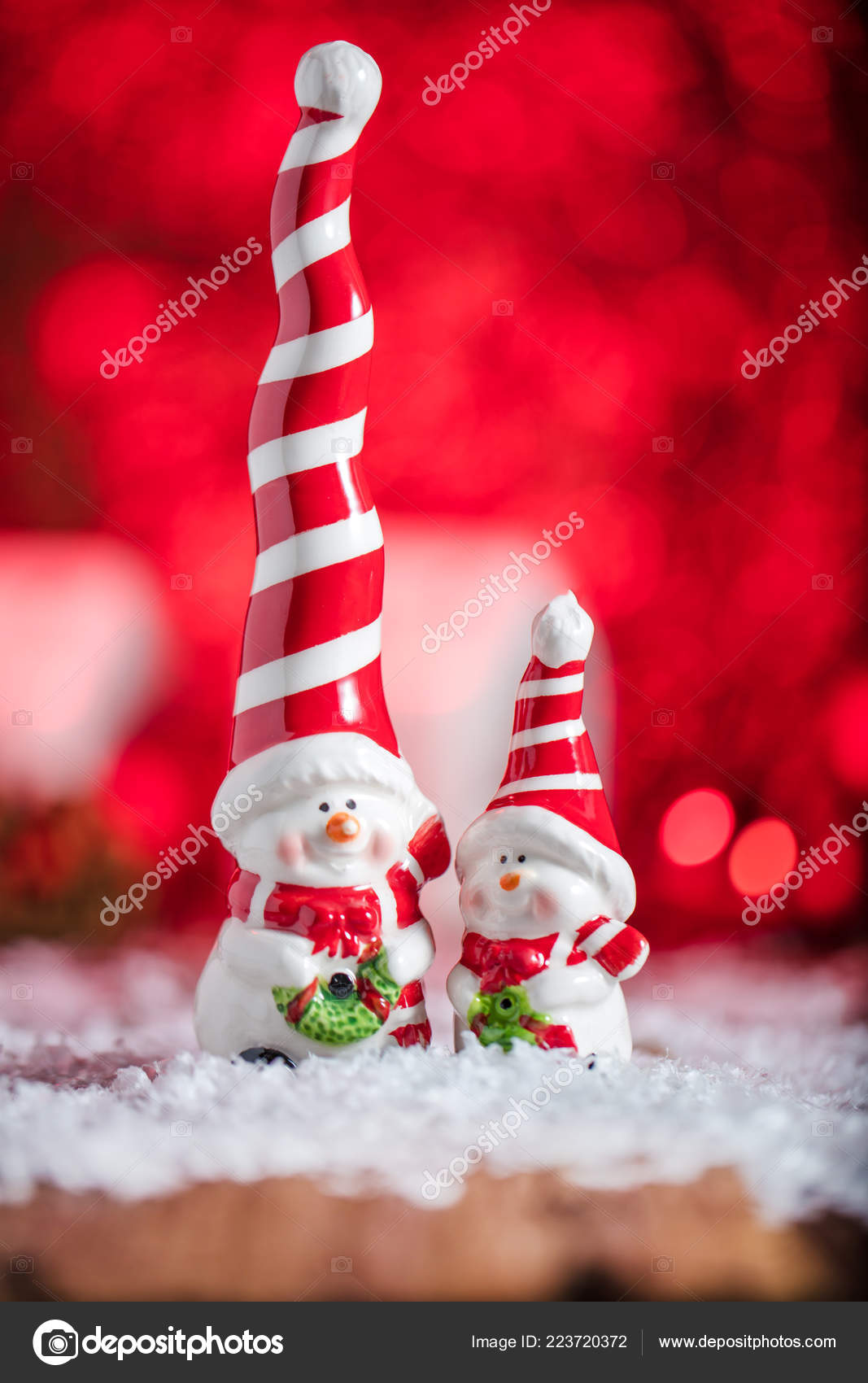 new year christmas card decor stock photo