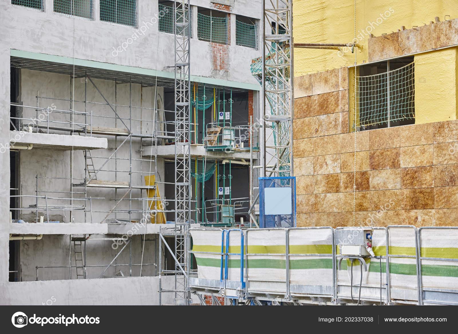 Facciata dell edificio costruzione materiale isolante piastrelle