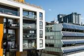 moderní architektura v slunečný den v Oslu, Norsko