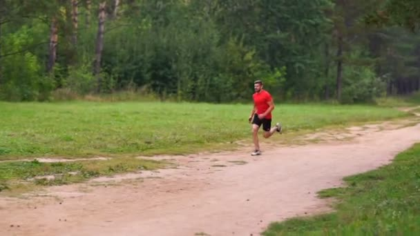 Man running at the park. Healthy, fitness, wellness lifestyle. Sport, cardio, workout concept