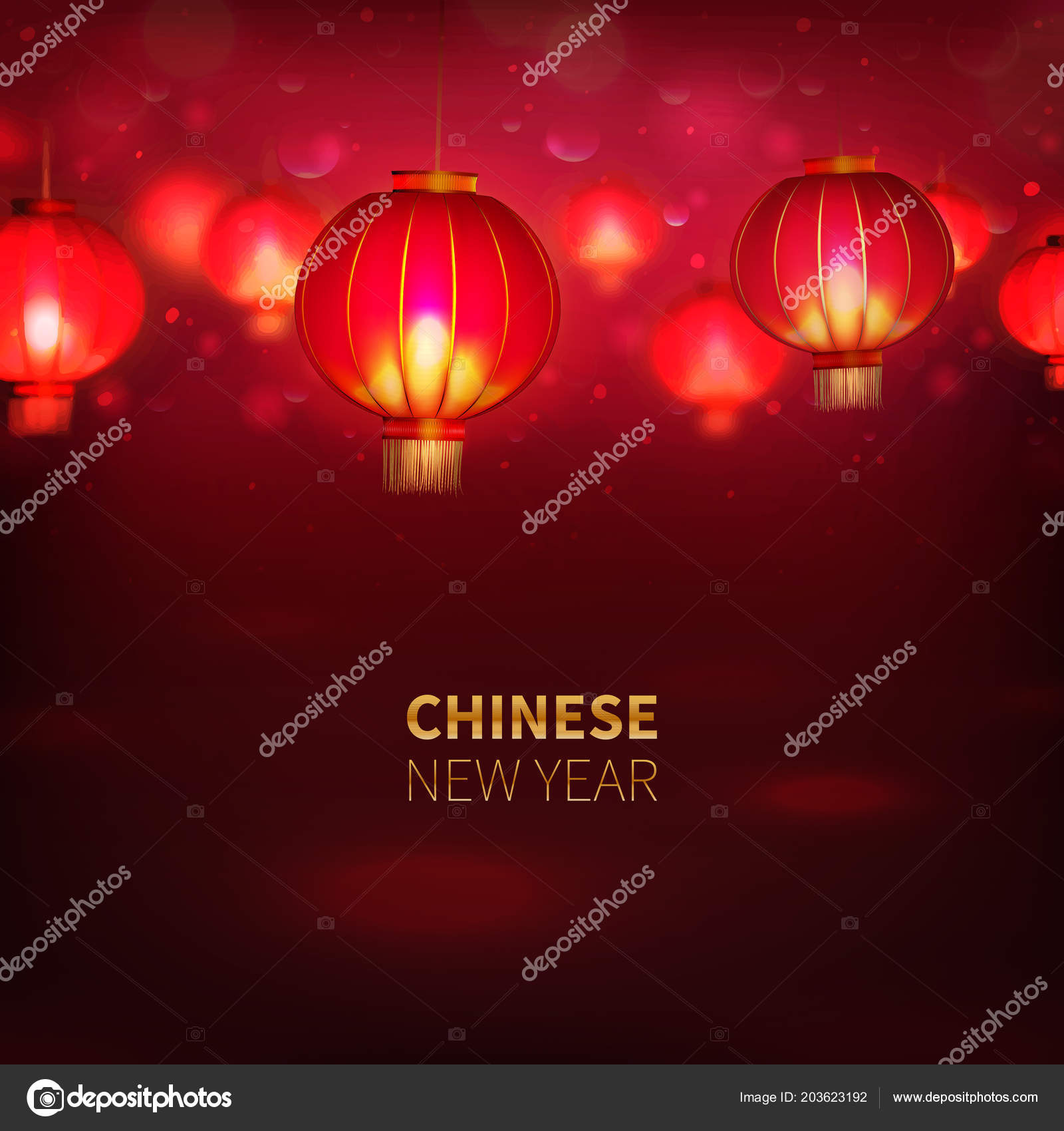 stock vector illustration happy chinese new year background card seamless chinese red paper