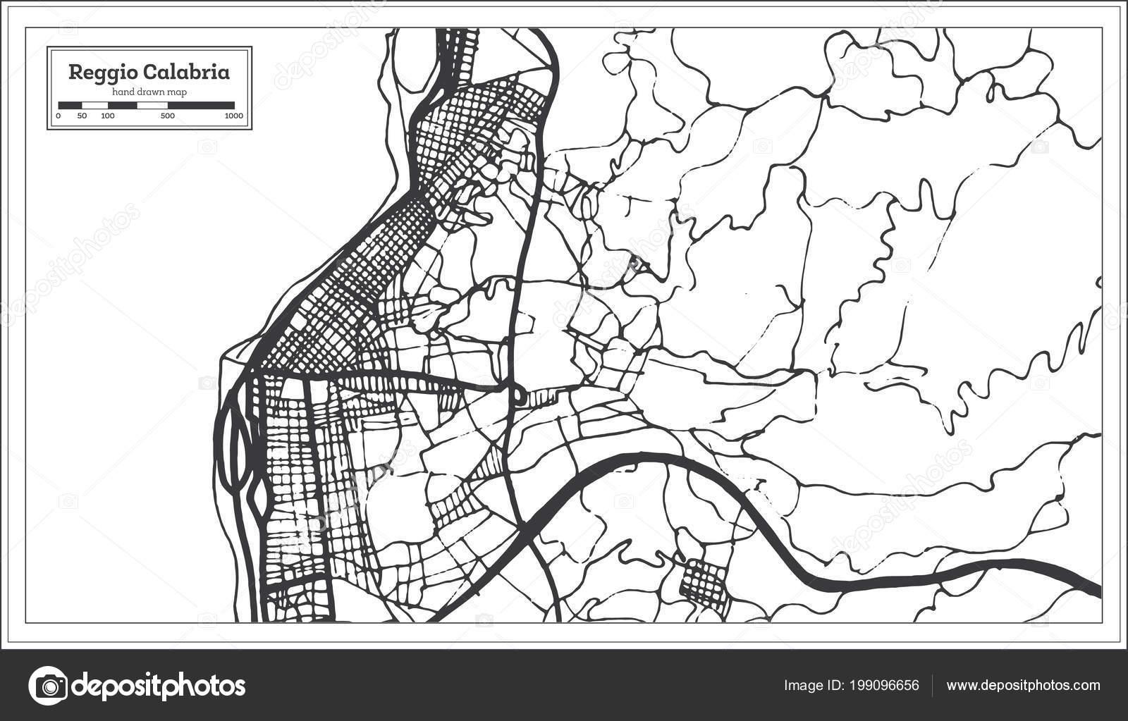 Cartina Calabria Muta.Immagini Cartina Muta Calabria Mappa Reggio Calabria