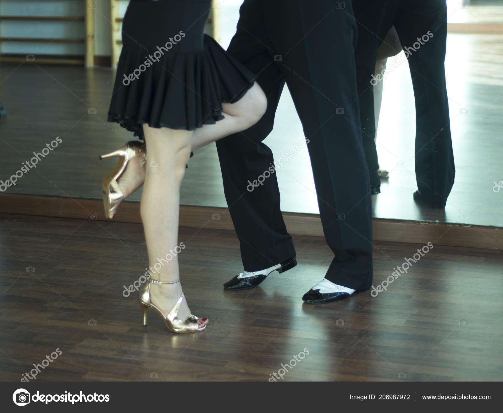 Baile Salón Salsa Dancer Instructores Hombre Mujer Pareja