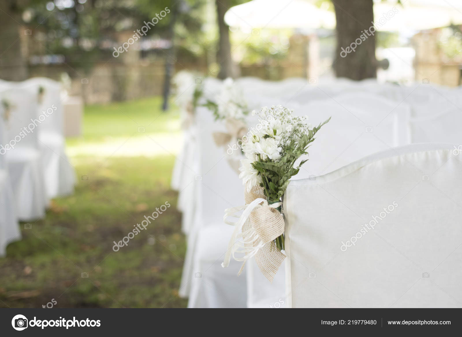 Salon Jardin Mariage Civil Estivales Plein Air Avec Bouquets ...