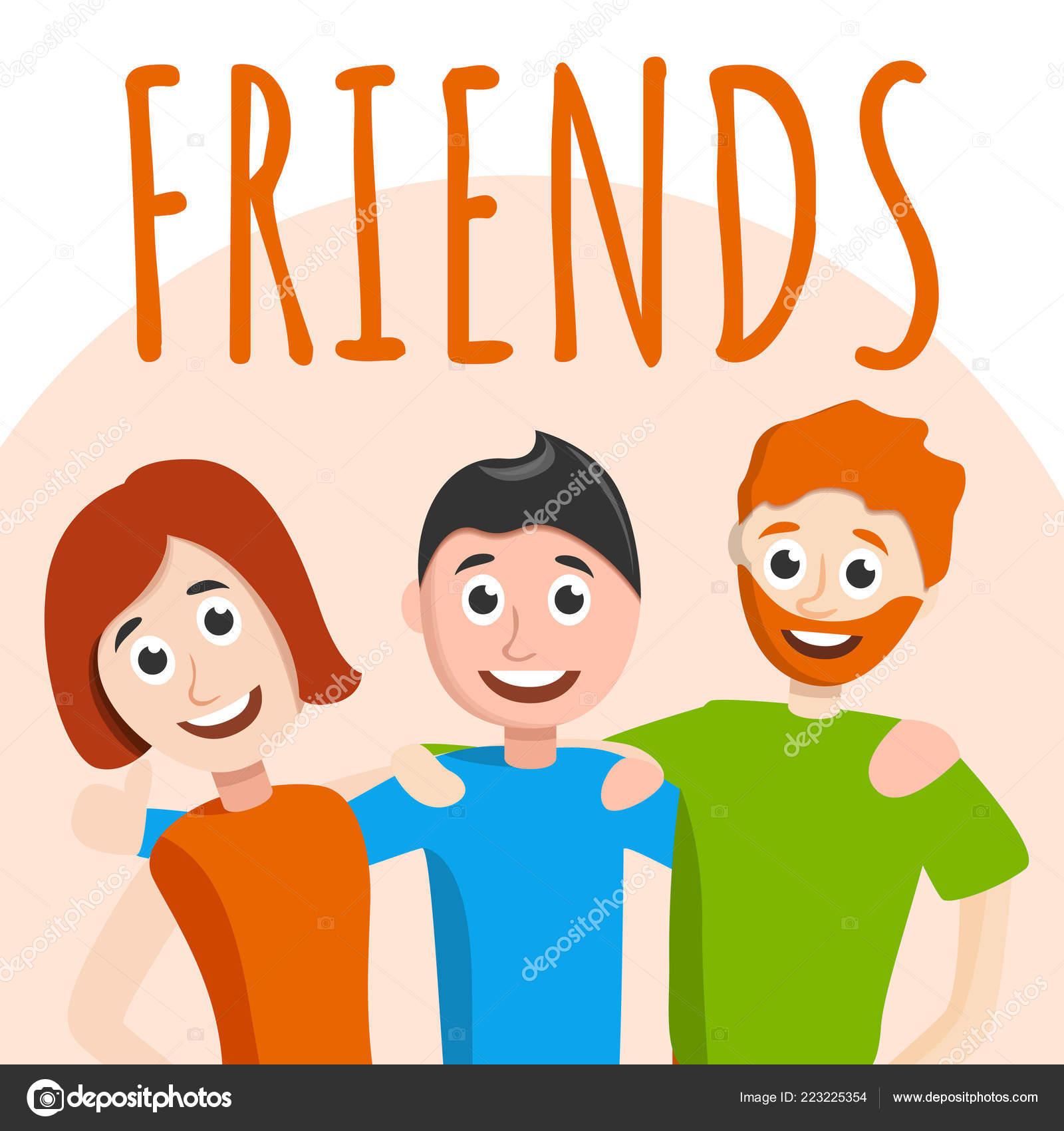 Antecedentes del concepto de amigos, estilo de dibujos