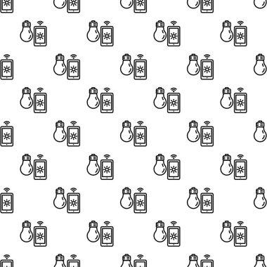 Smart bulb control pattern seamless