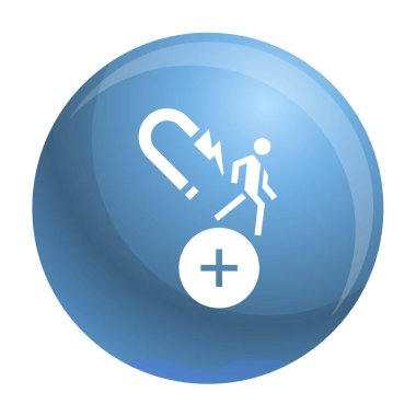 Customer retention icon, simple style