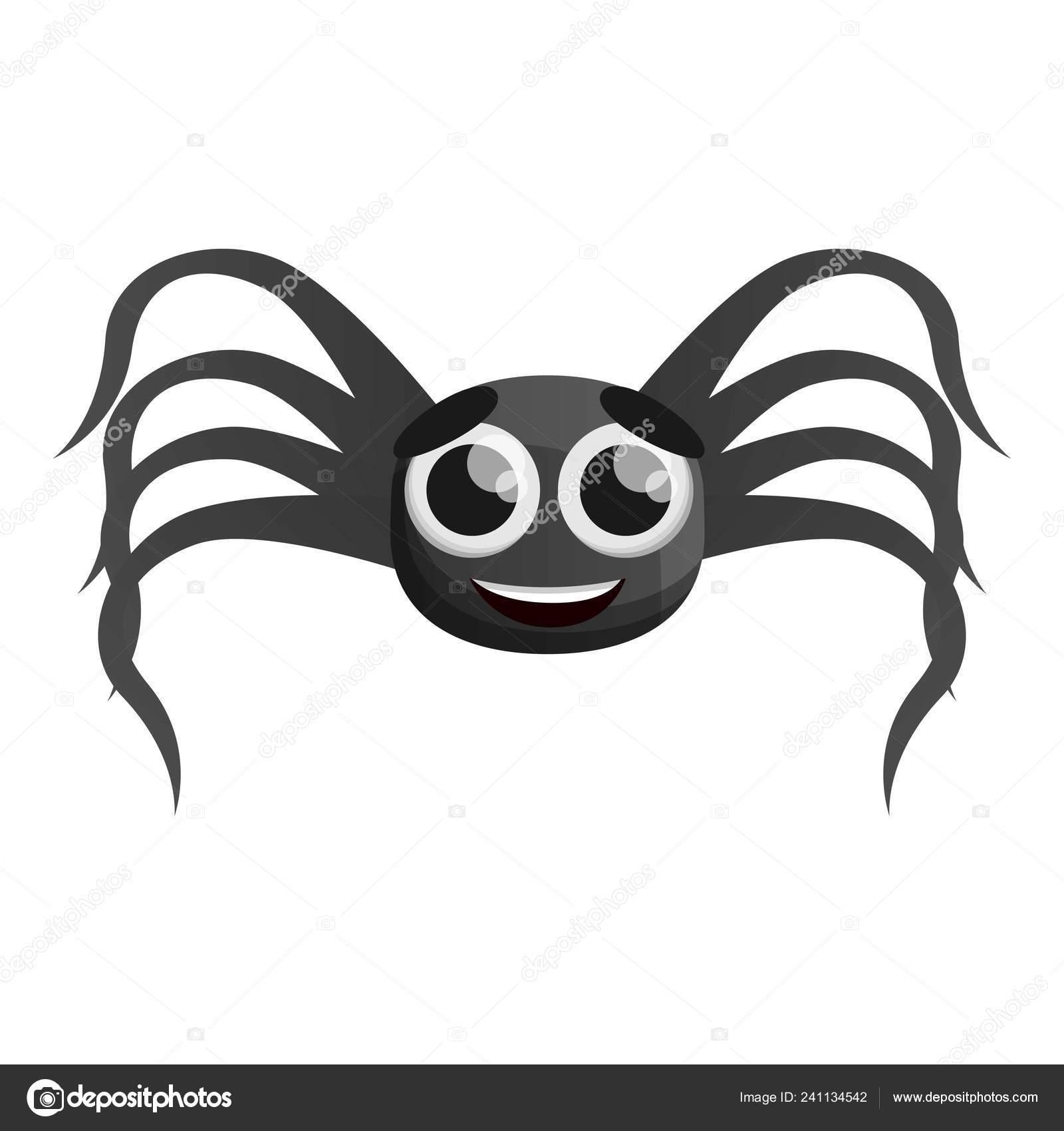 Icono De La Araña De Ojo Grande Estilo De Dibujos Animados