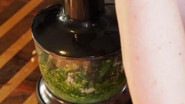 соус из зелёного базилика