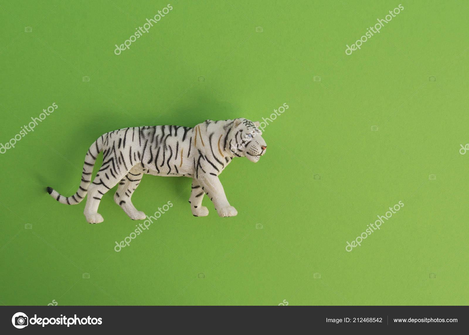 Animal Plástico Fondo Figurita Para Juguete Juego Tigre Niños OuXkPZi
