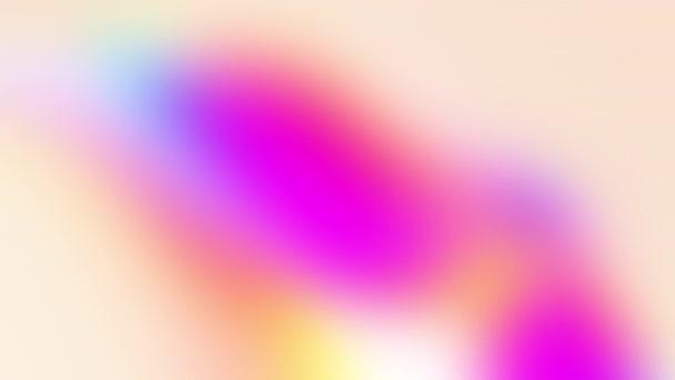 Modern absztrakt kompozíciók könnyű pasztell árnyalatokban. Sokszínű mozgó lejtők. Minimális futurisztikus burkolat. Színes animáció, 4k, univerzális háttér