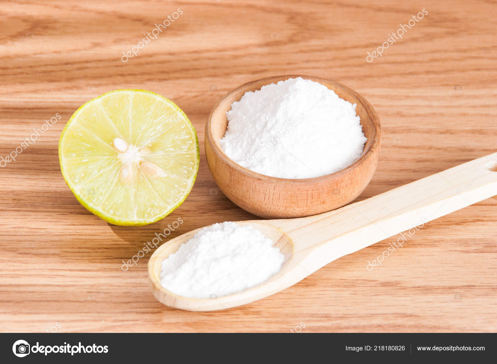 Baking Soda Sodium Bicarbonate — Stock Photo © JFCFOTOGRAFIC