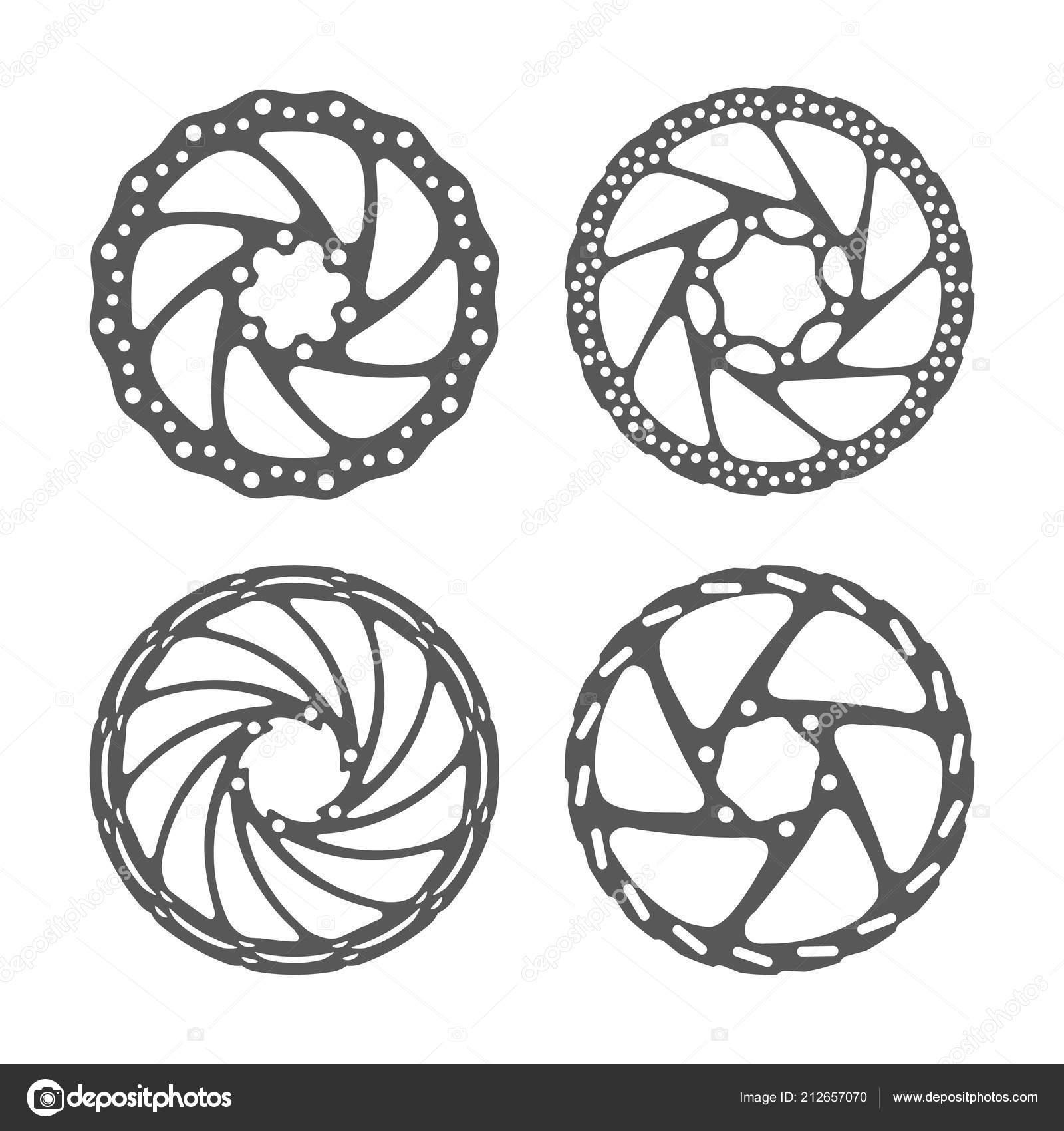 Bicycle Disc Brake Set Bike Disc Brake Rotors Different Shapes