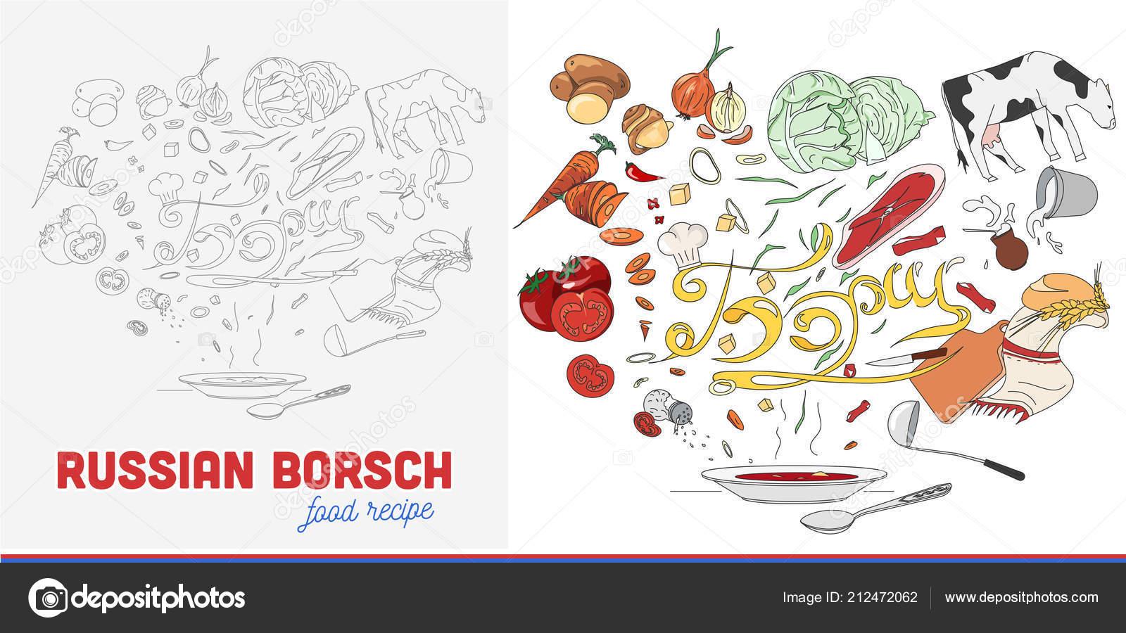 Еда рецепты борщ