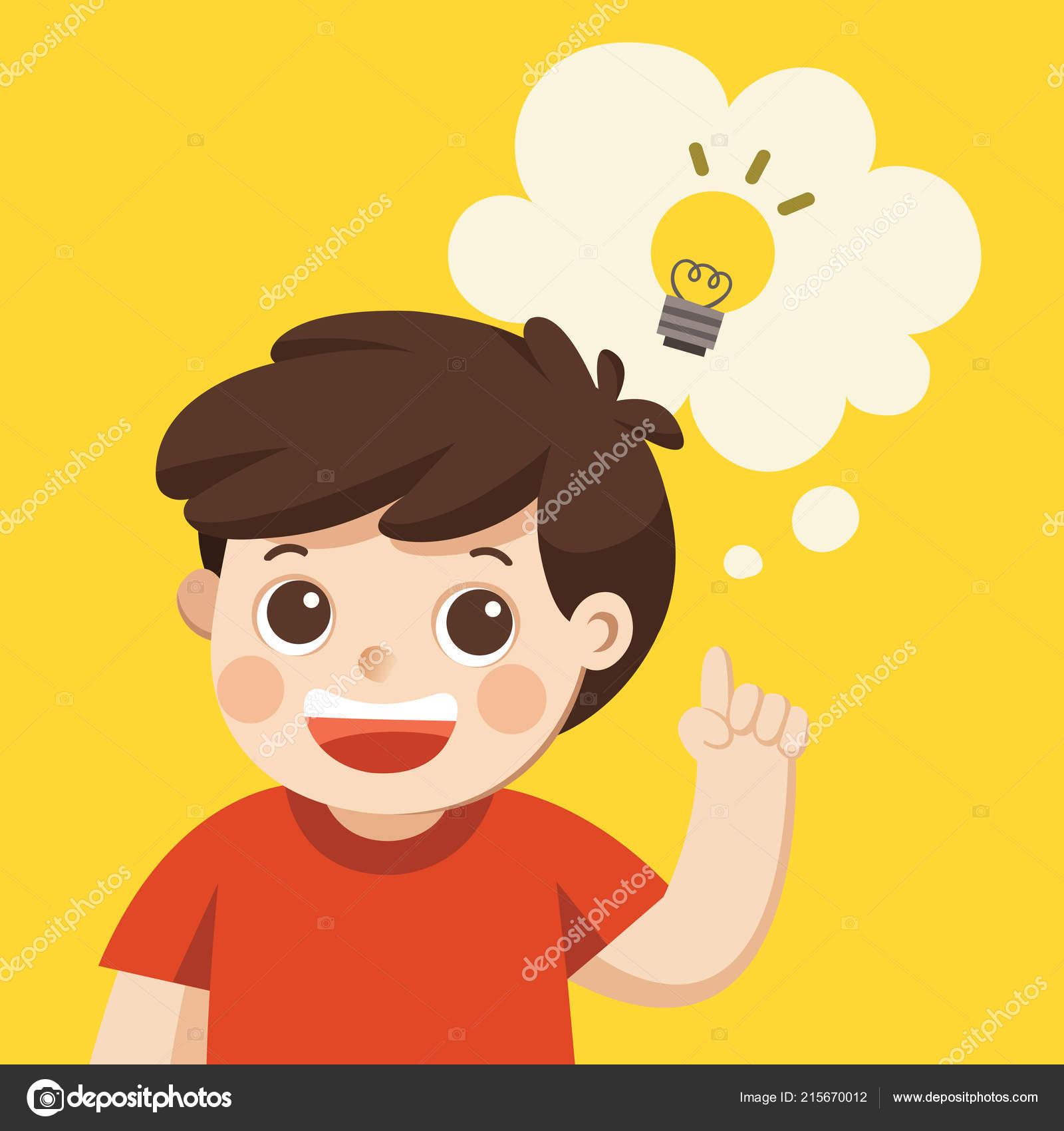 Áˆ Thinking Boy Cartoon Stock Pictures Royalty Free Cartoon Boy Thinking Illustrations Download On Depositphotos