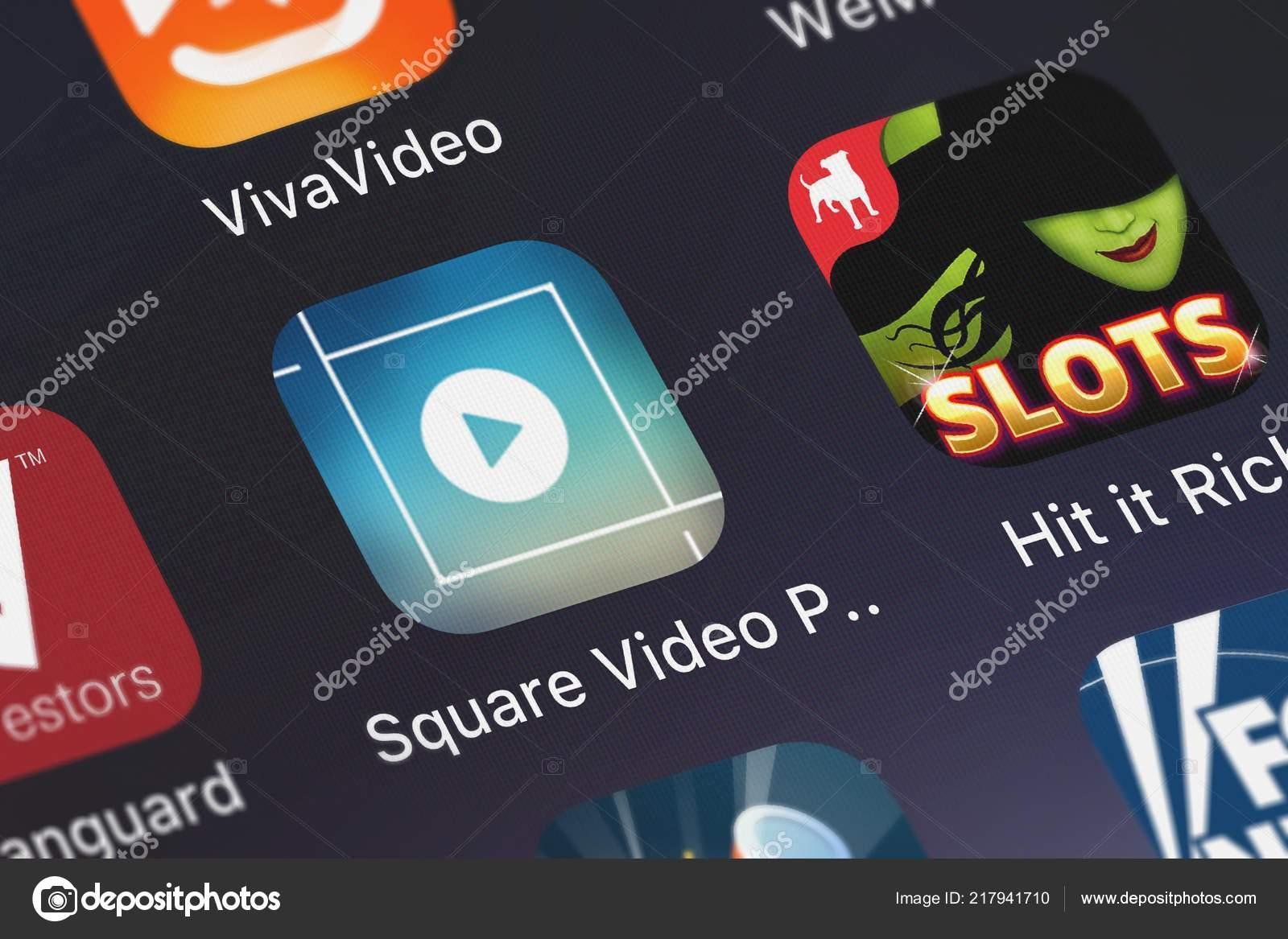 London United Kingdom September 2018 Screenshot Mobile App Square