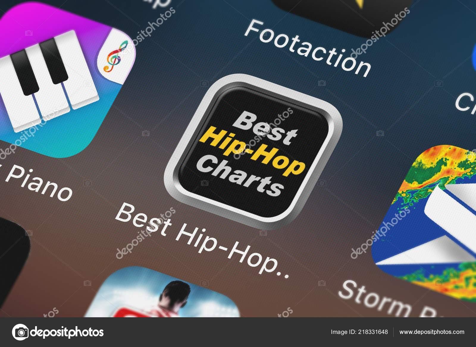 London United Kingdom October 2018 Close Best Hip Hop Rap