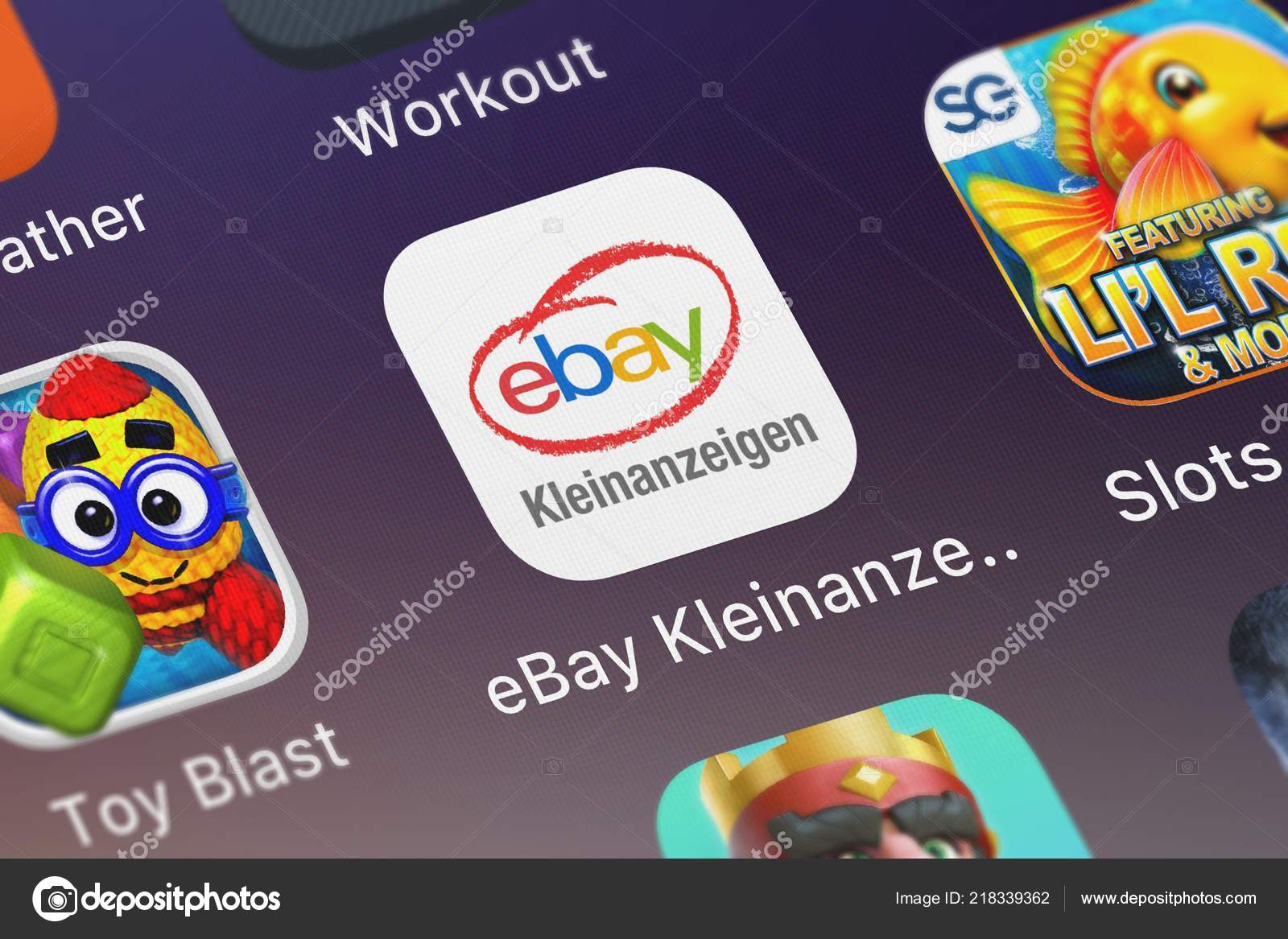 London United Kingdom October 2018 Ebay Kleinanzeigen Mobile App Marktplaats Stock Editorial Photo C Opturadesign 218339362