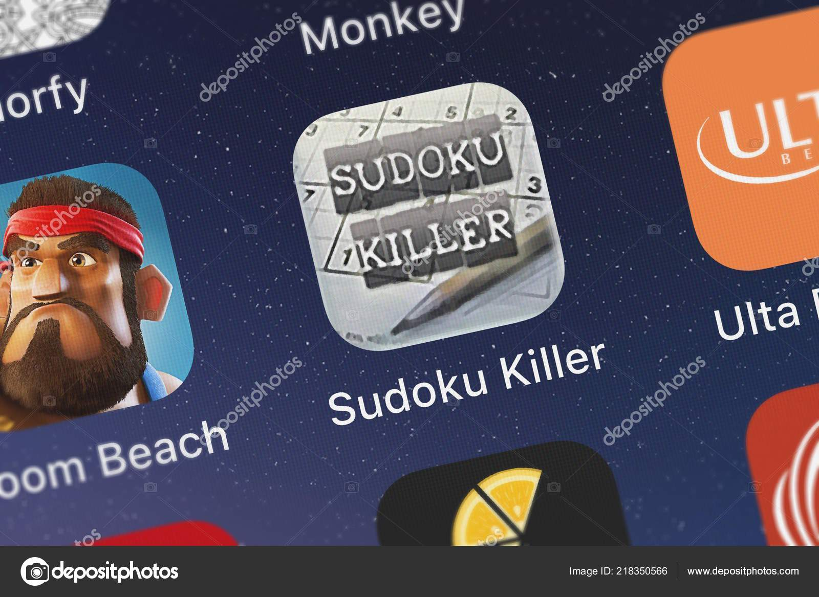 Londres Reino Unido Outubro 2018 Screenshot Assassino Sudoku Killer