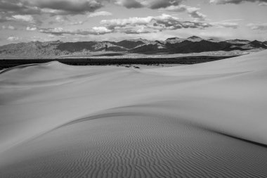 Amazing sand dunes in Death Valley, California, USA.