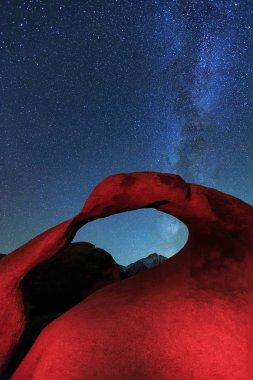 Mobius Arch, Lone Pine, California, USA.