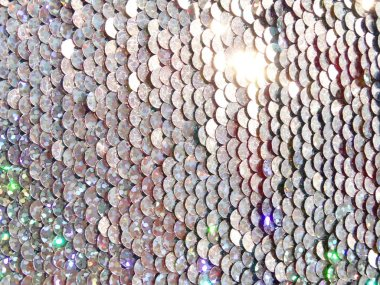 Shiny Colorful Background made of Sequins