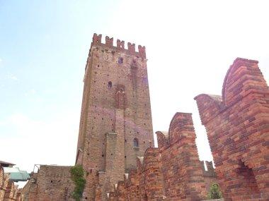Facade of Italian Castle