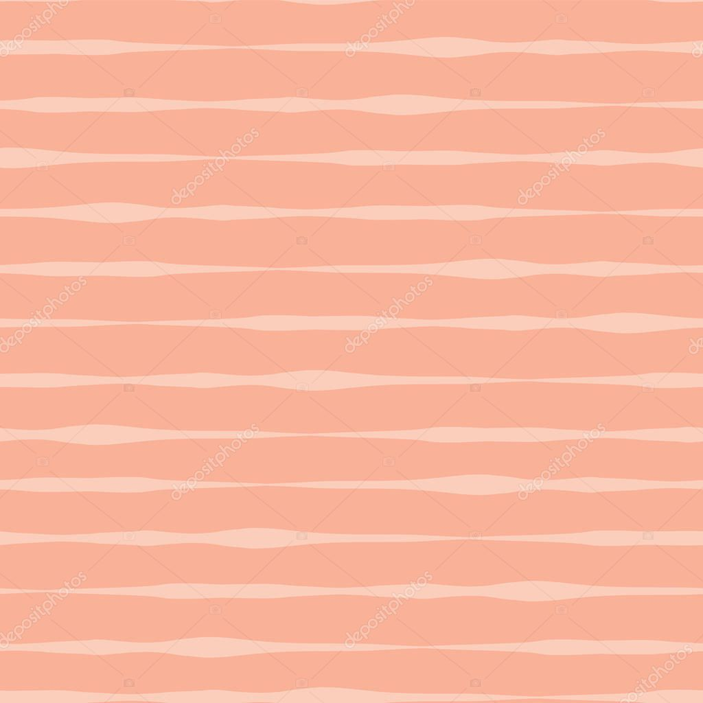 abstract seamless vector background pink coral orange orange and pink hues hand drawn lines in rows on peach background peachy shades background hand drawn wavy doodle strokes textured backgound premium vector pink hues hand drawn lines in rows