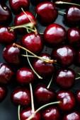 Friss édes cseresznye, lédús cseresznye bogyók gyümölcs desszert, mint gyógyítani