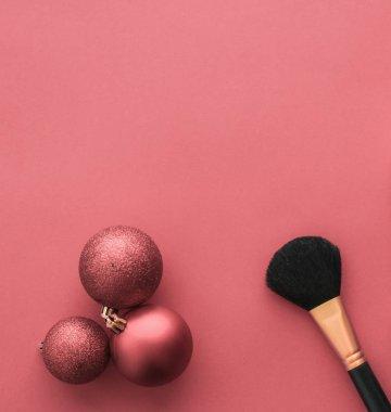 Make-up and cosmetics product set for beauty brand Christmas sal