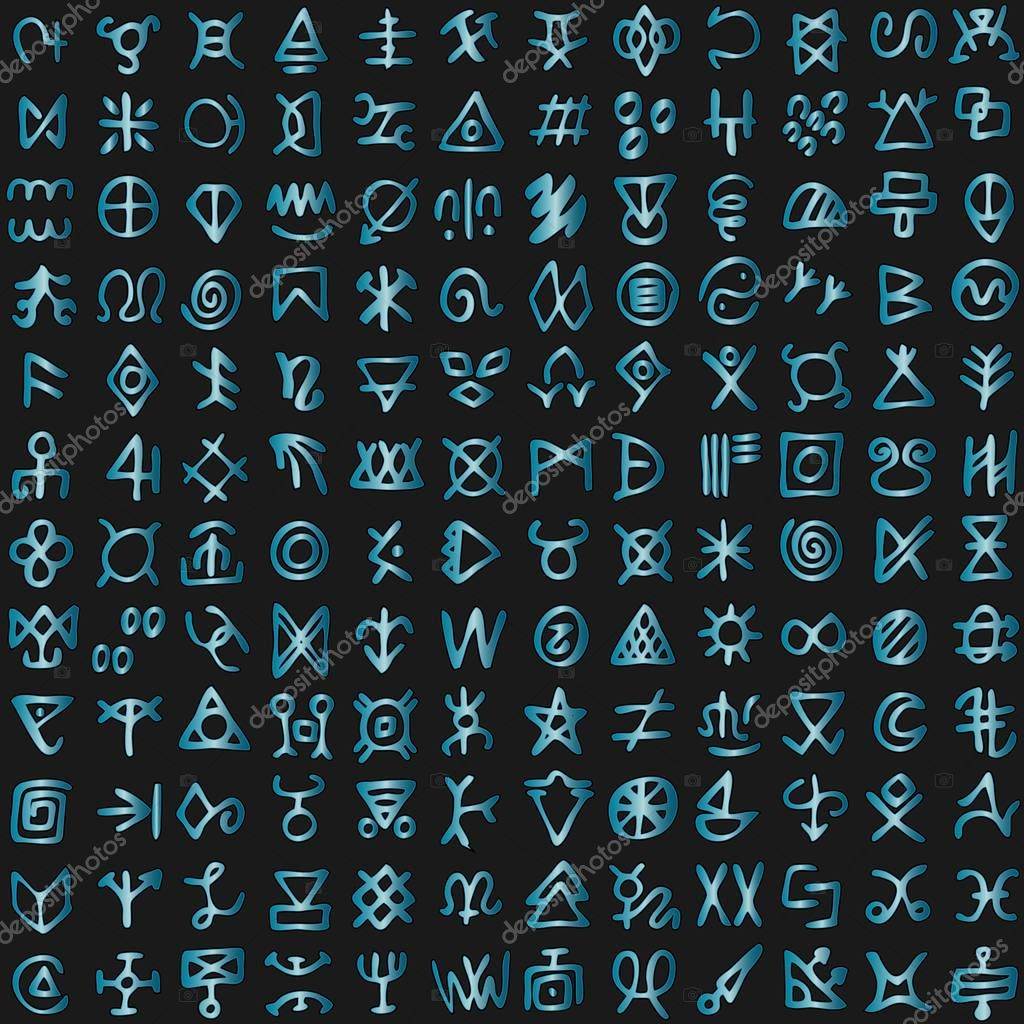 Futuristic cyberspace code digital alien matrix programming language alphabet