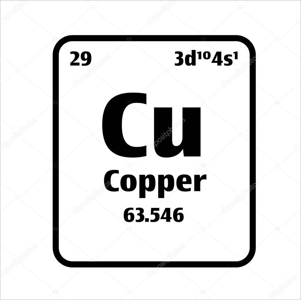 Atomic number of cobalt