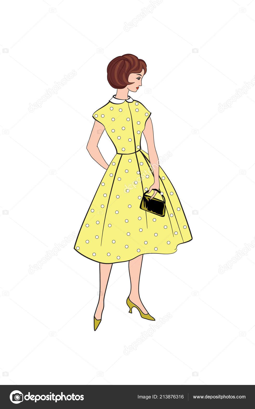 Moda Elegante Vestidos Niña Moda Retro Fiesta Paño Verano