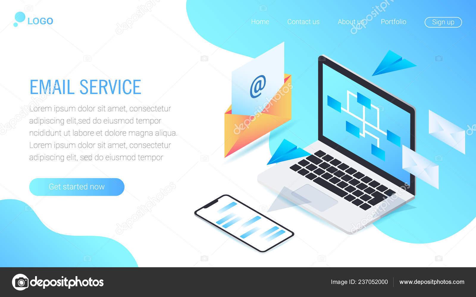 Set Web Page Design Templates Social Media Web Page Design Stock Vector C Anfisa1812 237052000