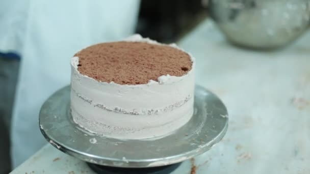 Preparation Of Cake In Patisserie