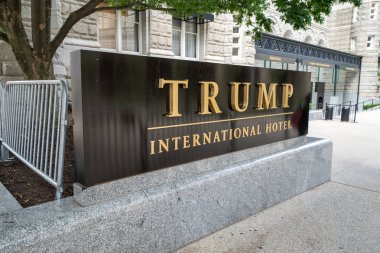 Washington, DC - May 9, 2019: Exterior sign and logo view of Tru