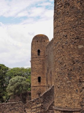 The Imperial Palace Complex Fasil Ghebbi, called