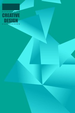 Polygonal abstract illustration. Crystal banners, posters, geometric backgrounds.