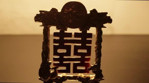 Feng shui hieroglyf pro štěstí