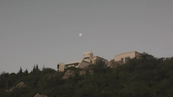 Mond, Zeitraffer, Haus, Vollmond