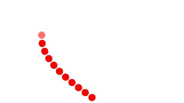 Obrázek, vyrobena z velkých bodů, zobrazeno symbolem srdce a láska podpis