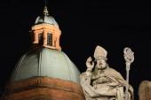 Photo Centro storico di Bologna di notte