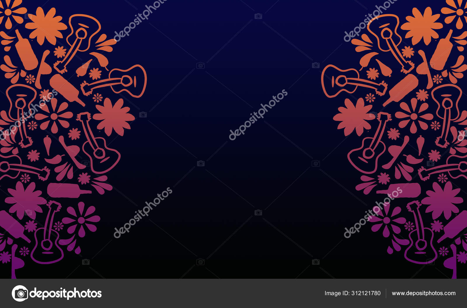 Day Of The Dead Wallpaper Stock Photo C Osvaldoreo 312121780